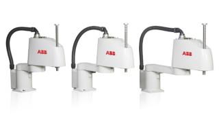 ABB wprowadza do oferty kompaktowe roboty typu SCARA