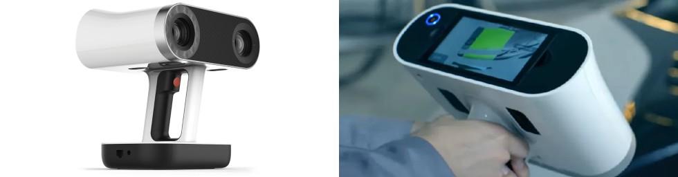 Skaner Leo Artec 3D zwbudowanym wyświetlaczem