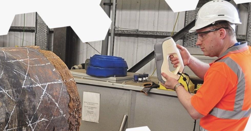 Zastosowanie skanowania 3D na linii produkcyjnej – model Eva lite Artec 3D