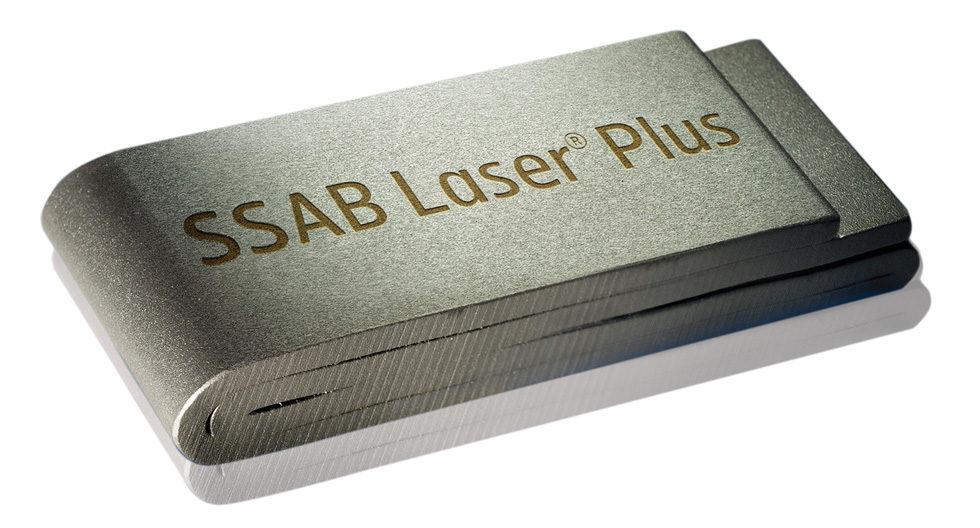 Cięcie laserowe na stali SSAB Laser Plus