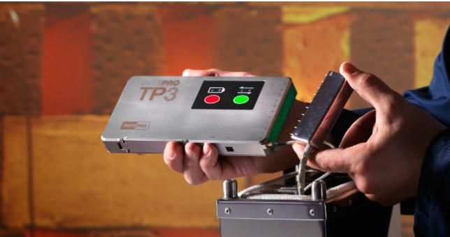 Fot.: Łatwy wobsłudze, trwały iniezwykle precyzyjny: nowy rejestrator DATAPAQ TP3 ułatwia producentom cegieł iceramiki konfigurację procesów iwyszukiwanie błędów