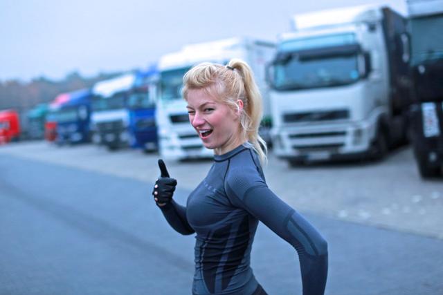 Truckers Life icudna dziewczyna