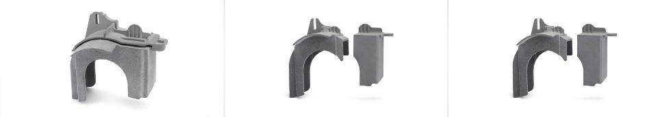 Osłona wydrukowana zUltrasintTM-TPU01 wtechnologii MJF 3D