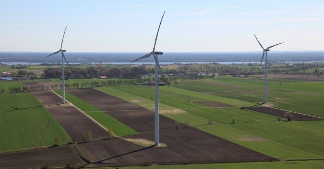 Park Wiatrowy wDobrzyniu. vortex energy zrealizował łącznie 310,9 MW mocy zenergii odnawialnych