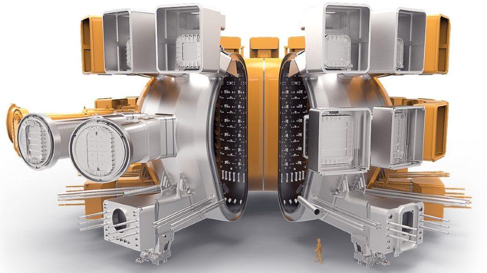 Zbiornik próżniowy /Źródło fot. ITER