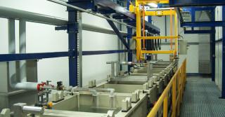 Urządzenia i linie do nanoszenia pokryć galwanicznych i lakierniczych od ZUGiL
