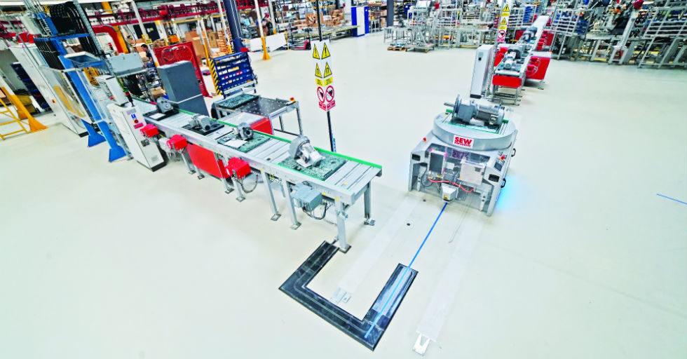 Automatyka i technika napędowa w inteligentnej fabryce przyszłości