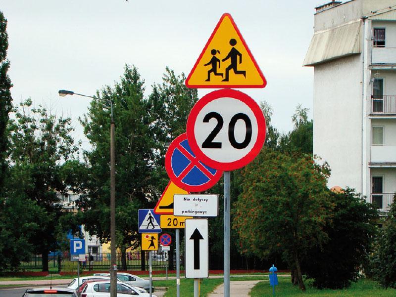 NIK skontrolował oznakowanie na polskich drogach