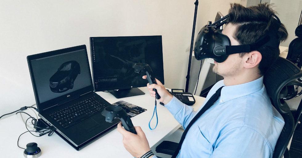 Wirtualna rzeczywistość w procesie przeprowadzania analizy geometrii 3D