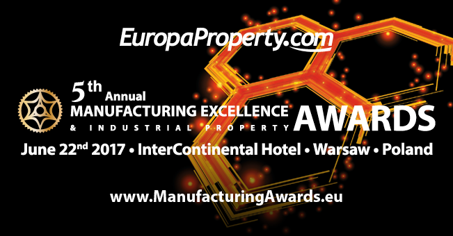 5 doroczne Manufacturing Excellence & Industrial Property Awards