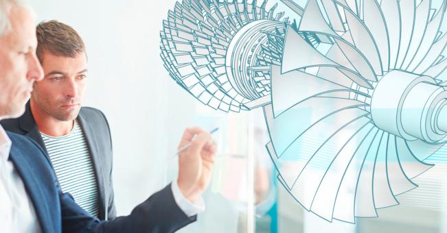 Metrologia 3D w przemyśle turbin gazowych: ATOS TECH DAY 2019
