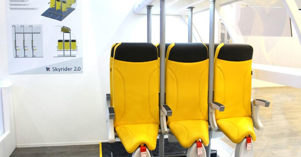 Innowacyjne siedzenia lotnicze od włoskich Aviointeriors