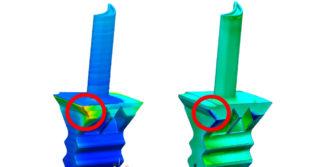 Przewidywanie zniekształceń podczas druku 3D
