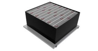 Układ zarządzania temperaturą pracy baterii pojazdów elektrycznych