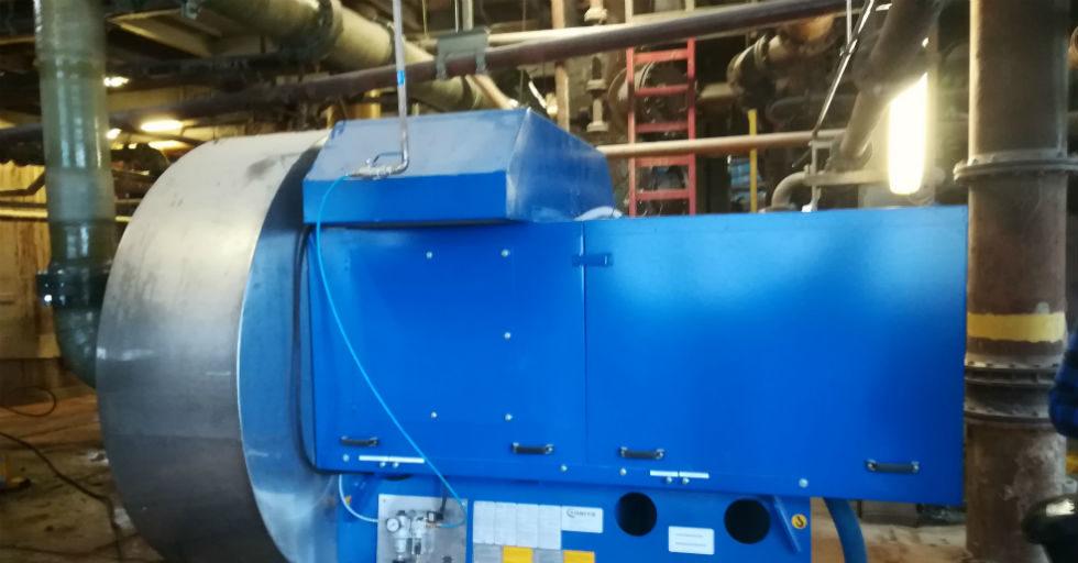 Technologia zatężania CO2 w procesie produkcji sody