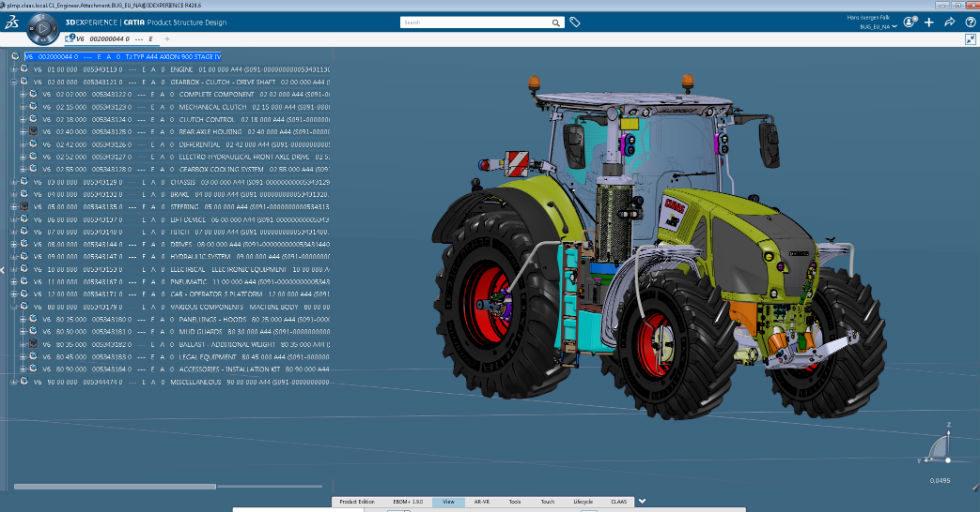 Producent sprzętu rolniczego CLAAS wdraża platformę 3DEXPERIENCE