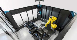Cube – R / zautomatyzowana cela pomiarowa z systemem MetraSCAN 3D R