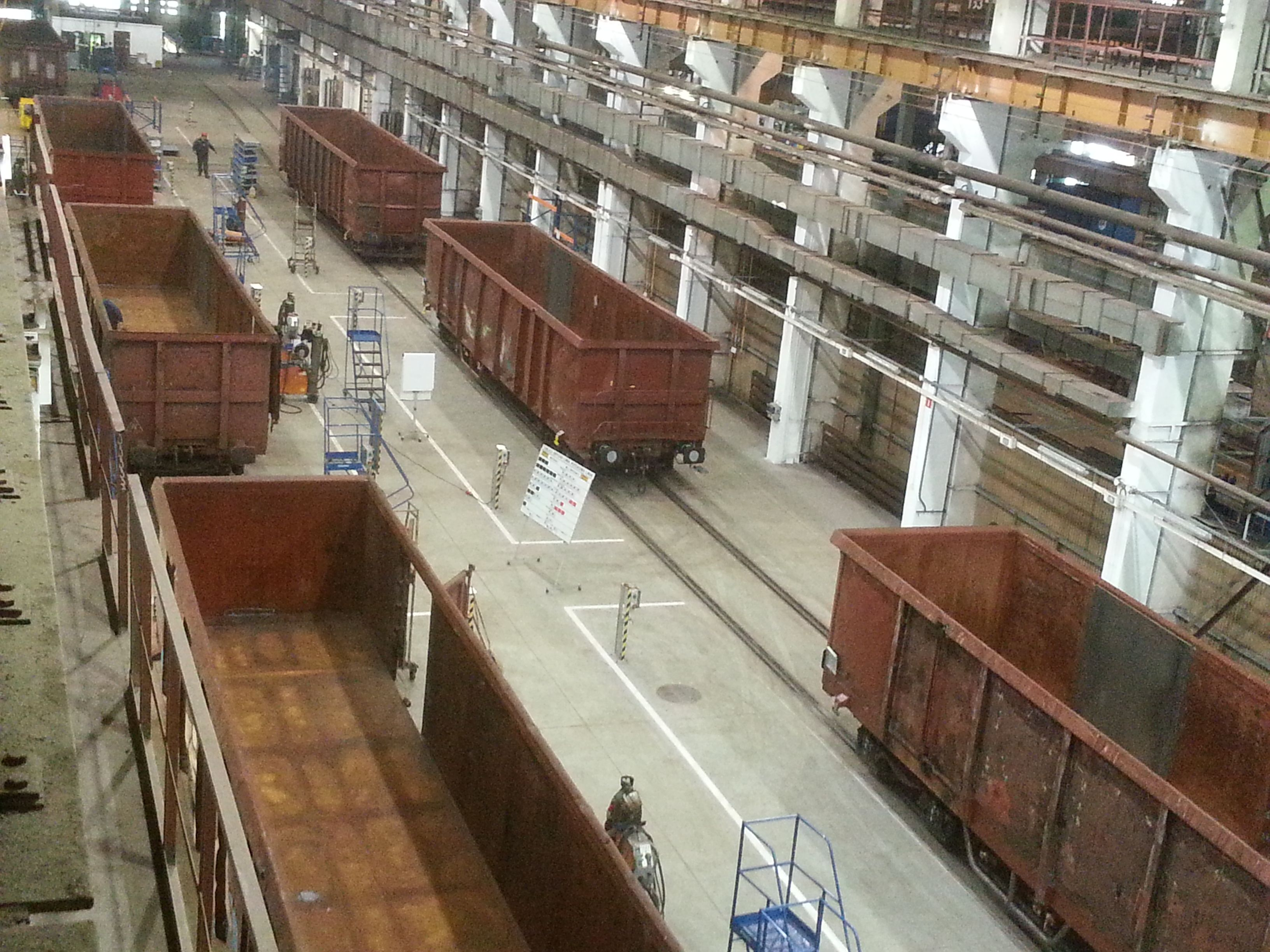 DB Schenker Rail Polska – serwis trzykrotnie więcej wagonów