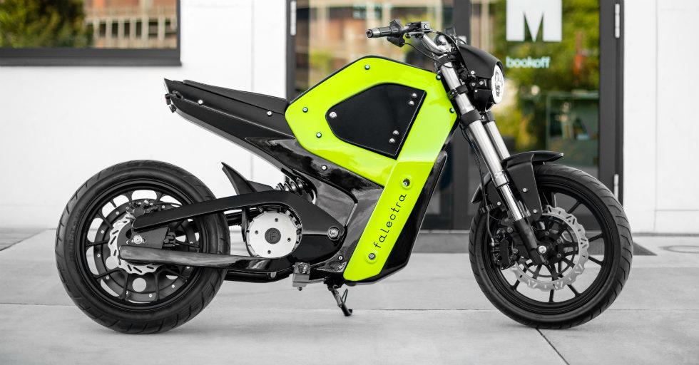 Falectra: elektryczny motocykl, który powstał dzięki drukowi 3D