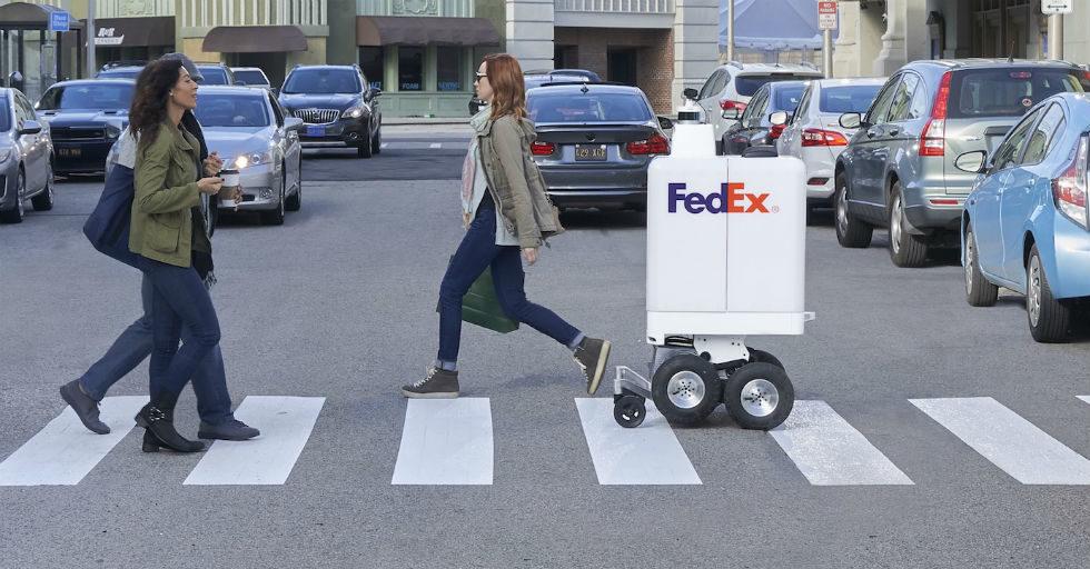 FedEx dostarczy zakupy przy pomocy autonomicznego robota