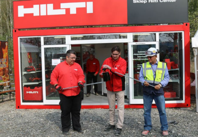 Mobilny Sklep Hilti Center w Elektrowni Opole