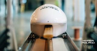 Hyper Poland zademonstrował przejazd pojazdu w technologii magrail