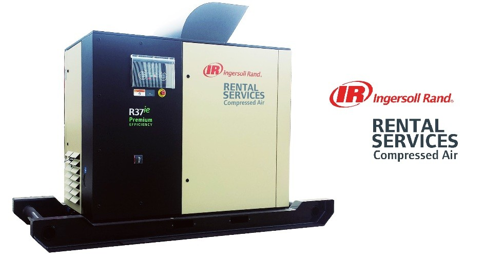 Ingersoll Rand wprowadza usługi Compressed Air Rental Services