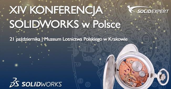 XIV Konferencja SOLIDWORKS / CAD/CAM/PDM/ERP
