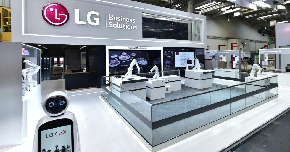 Inteligentne rozwiązania LG dla firm produkcyjnych