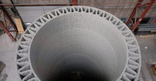Technologia Lafarge wykorzystująca beton w druku 3D zwiększy o ⅓ wydajność farm wiatrowych