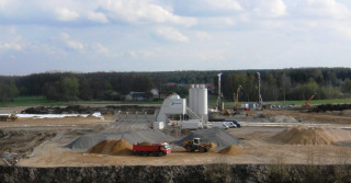Lafarge wykorzystuje mobilne wytwórnie betonu