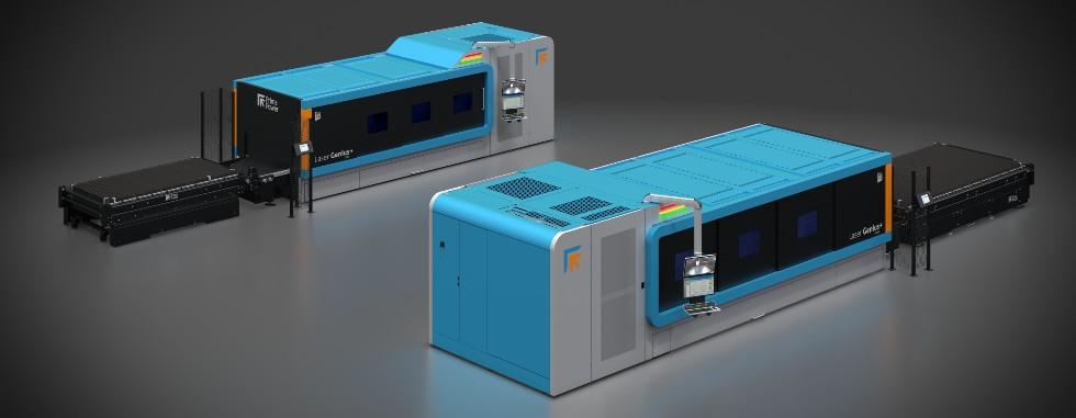Laser Genius+ 1530 i2040 – symetryczny layout izwarta budowa całej maszyny