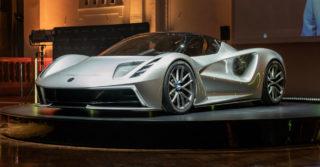 Lotus Evija: 9 minut ładowania i 9 sekund do 300 km/h