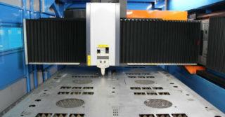 Wycinarka laserowa Platino Fiber Evo na kieleckich targach STOM