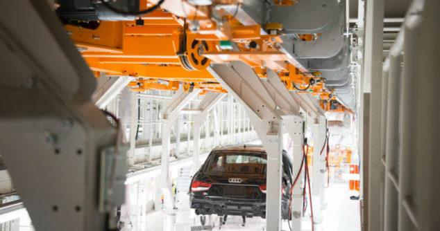 Jak technika napędowa zmieniła linię produkcyjną Audi e-tron