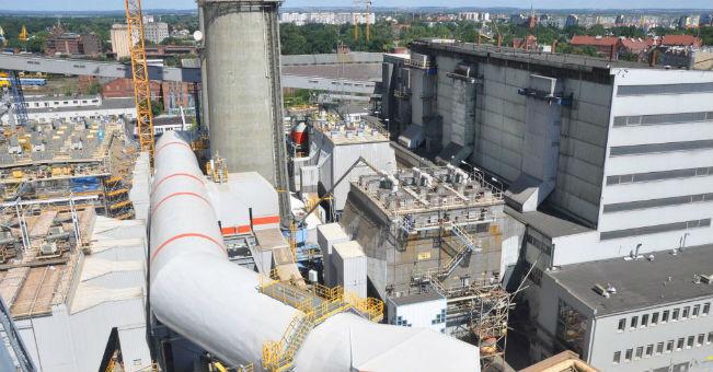Elektrociepłownia Wrocław  uruchamia ekologiczną instalację
