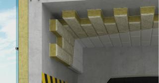 FASROCK G – nowa płyta do izolacji stropów garaży od ROCKWOOL