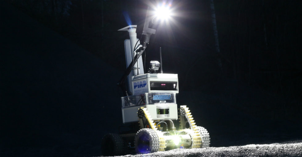 PIAP Space testuje sterowanie robotem mobilnym dla ESA