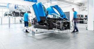 Chorwacki Rimac stworzył nową linię produkcyjną elektrycznych samochodów