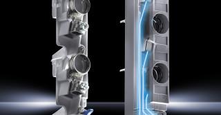 Montowane na szynach zbiorczych podstawki bezpiecznikowe firmy Rittal