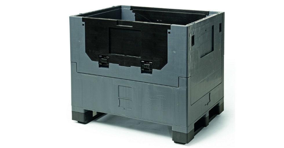 Usprawnij przechowywanie i transport dzięki pojemnikom przemysłowym