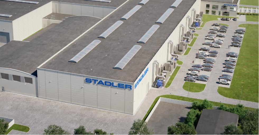 Stadler inwestuje 65 mln zł w modernizację i rozbudowę zakładu