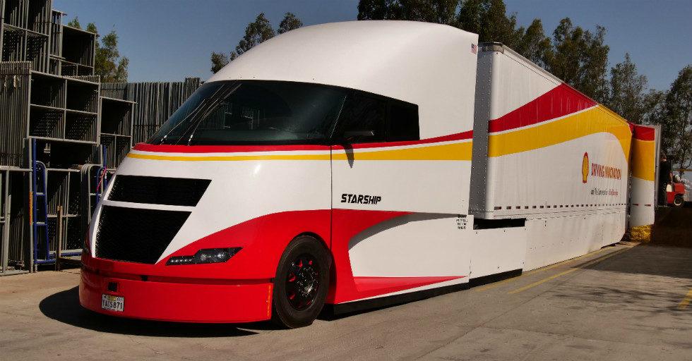 Ciężarówka Starship umożliwia zwiększenie efektywności przewozu jednostki ładunku o 248%