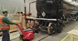 Wagony Świdnica zwiększają wydajność logistyki linii produkcyjnej