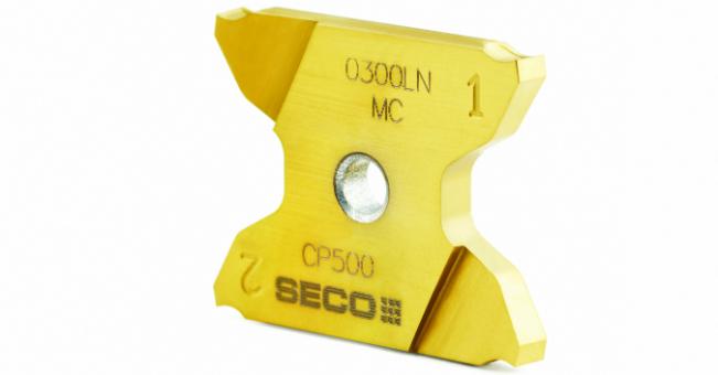 Płytkie rowkowanie i przecinanie z produktami serii X4 firmy Seco