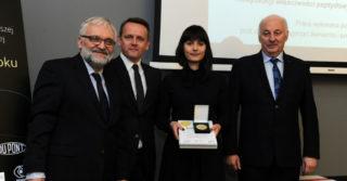 Złoty Medal Chemii 2017 dla Małgorzaty Lewińskiej