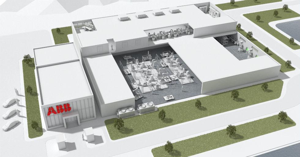 ABB zbuduje najbardziej zaawansowaną fabrykę robotów na świecie w Szanghaju