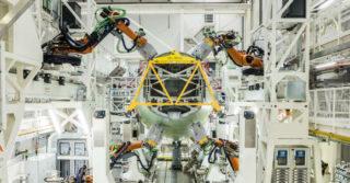 Zautomatyzowana linia montażowa konstrukcji kadłuba samolotów Airbus