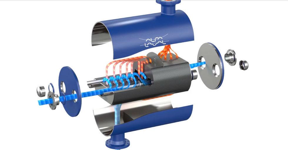 Wymiennik ciepła jako regazyfikator paliw gazowych na statkach z napędem LNG