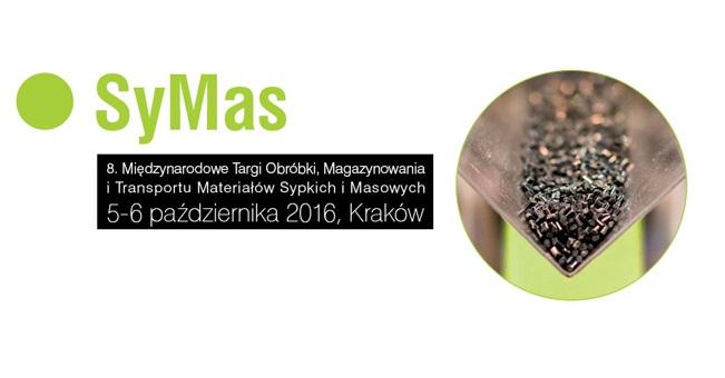 SyMas 2016 – 8. Międzynarodowe Targi Obróbki, Magazynowania i Transportu Materiałów Sypkich i Masowych